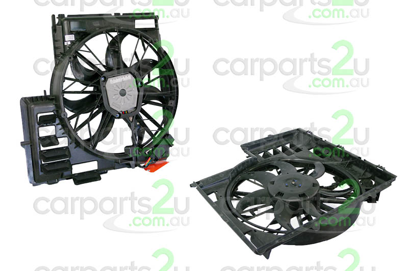To suit BMW X5 E90  RADIATOR FAN ASSEMBLY - New quality car parts & auto spares online Australia wide with the convenience of shopping from your own home. Carparts 2U Penrith Sydney