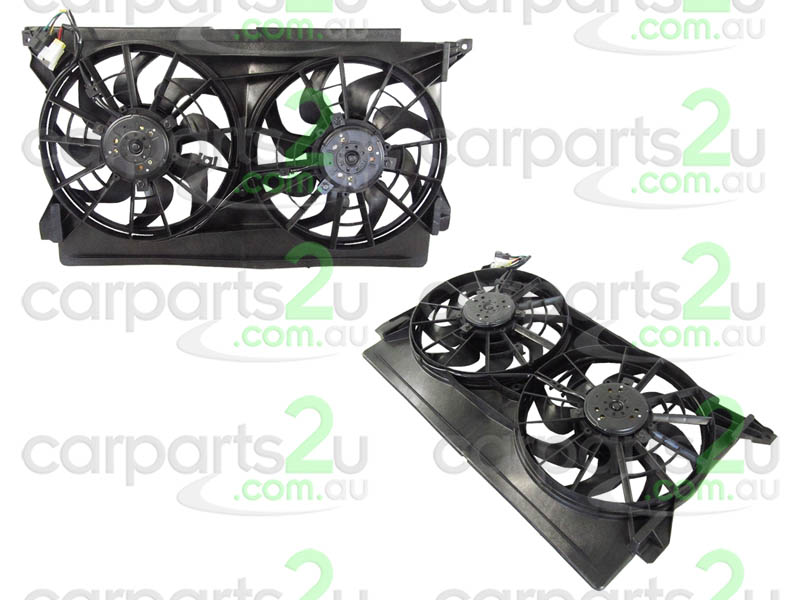 TO SUIT FORD FALCON EF / EL  RADIATOR FAN ASSEMBLY  NA - BRAND NEW DUEL RADIATOR/AIR CONDITIONER FAN ASSEMBLY TO SUIT FORD FALCONEF MODELS BETWEEN 8/94-9/96 (2 PLUG TYPE)  - New quality car parts & auto spares online Australia wide with the convenience of shopping from your own home. Carparts 2U Penrith Sydney