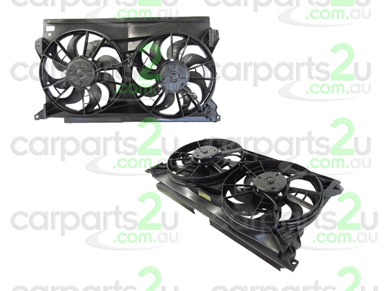 TO SUIT FORD FALCON EF / EL  RADIATOR FAN ASSEMBLY  NA - BRAND NEW DUEL RADIATOR/AIR CONDITIONER FAN ASSEMBLY TO SUIT FORD FALCON EL/XH UTILITY MODELS BETWEEN 7/96-5/99 (1 PLUG TYPE)