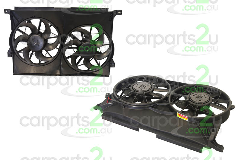 TO SUIT FORD FALCON AU  RADIATOR FAN ASSEMBLY  NA - BRAND NEW DUEL RADIATOR/AIR CONDITIONER FAN ASSEMBLY TO SUIT FORD FALCON AUMODELS BETWEEN 9/98-9/02  - New quality car parts & auto spares online Australia wide with the convenience of shopping from your own home. Carparts 2U Penrith Sydney