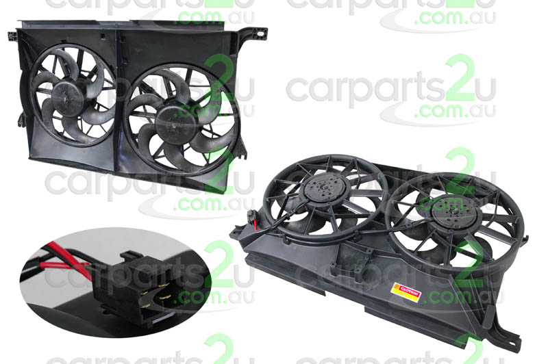 TO SUIT FORD FALCON BA / BF  RADIATOR FAN ASSEMBLY  NA - BRAND NEW DUEL RADIATOR/AIR CONDITIONER FAN ASSEMBLY TO SUIT FORD FALCON BA/BF SERIES 1 MODELS BETWEEN 10/02-9/06 & ALL FG FALCON MODELS WITH DUAL FAN ASSEMBLY