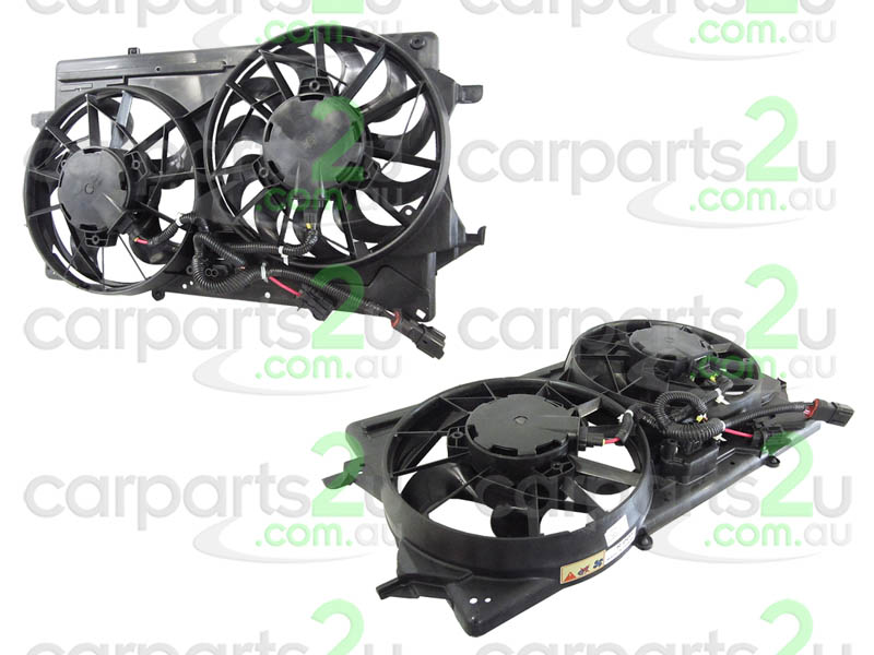 TO SUIT FORD FOCUS FOCUS LR  RADIATOR FAN ASSEMBLY  NA - BRAND NEW DUAL RADIATOR/AIR CONDITIONING FAN ASSEMBLY TO SUIT FORD FOCUS LR MODELS BETWEEN 10/02-12/04