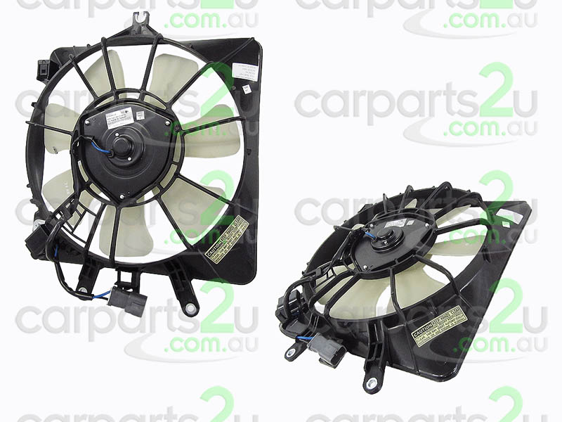 To suit HONDA JAZZ ES SEDAN  CONDENSER FAN ASSEMBLY - New quality car parts & auto spares online Australia wide with the convenience of shopping from your own home. Carparts 2U Penrith Sydney