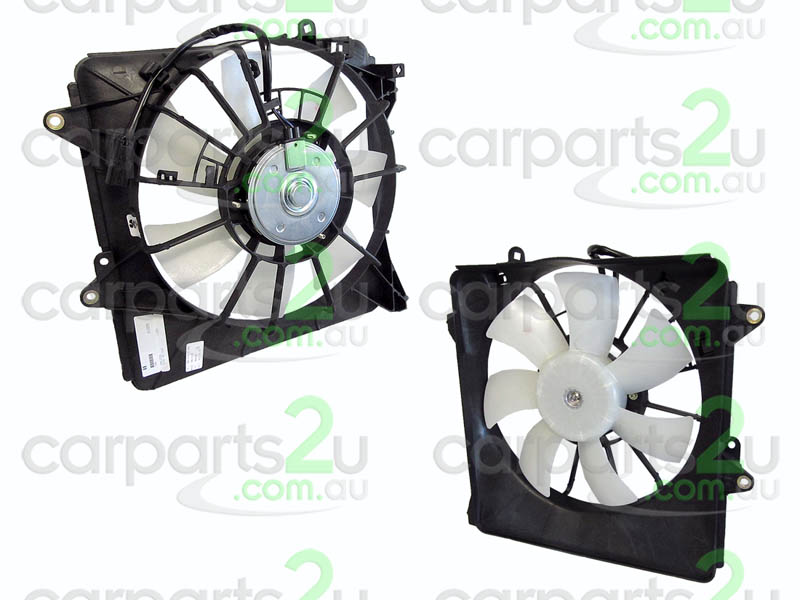 To suit HONDA JAZZ JAZZ GD  CONDENSER FAN ASSEMBLY - New quality car parts & auto spares online Australia wide with the convenience of shopping from your own home. Carparts 2U Penrith Sydney