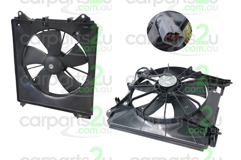 To suit HONDA ODYSSEY  JAZZ GE/GP  CONDENSER FAN ASSEMBLY - New quality car parts & auto spares online Australia wide with the convenience of shopping from your own home. Carparts 2U Penrith Sydney