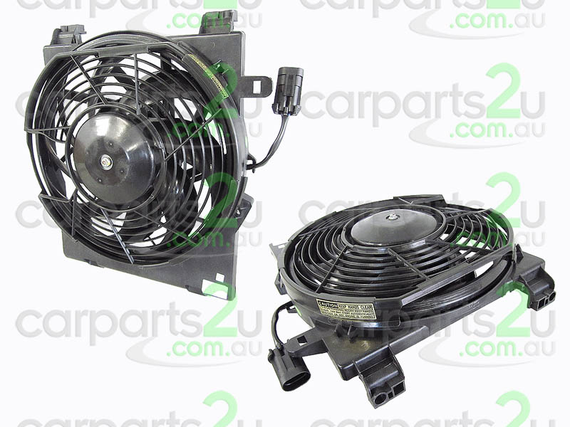To suit HOLDEN BARINA SB  CONDENSER FAN ASSEMBLY - New quality car parts & auto spares online Australia wide with the convenience of shopping from your own home. Carparts 2U Penrith Sydney