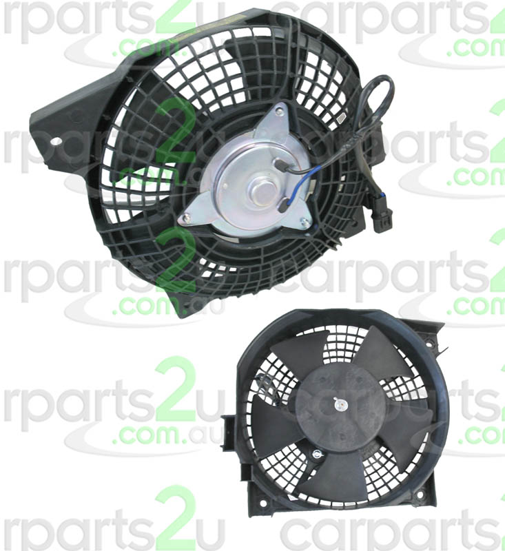 To suit HOLDEN RODEO XC  CONDENSER FAN ASSEMBLY - New quality car parts & auto spares online Australia wide with the convenience of shopping from your own home. Carparts 2U Penrith Sydney