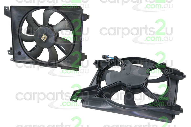 To suit HYUNDAI ELANTRA MC  CONDENSER FAN ASSEMBLY - New quality car parts & auto spares online Australia wide with the convenience of shopping from your own home. Carparts 2U Penrith Sydney