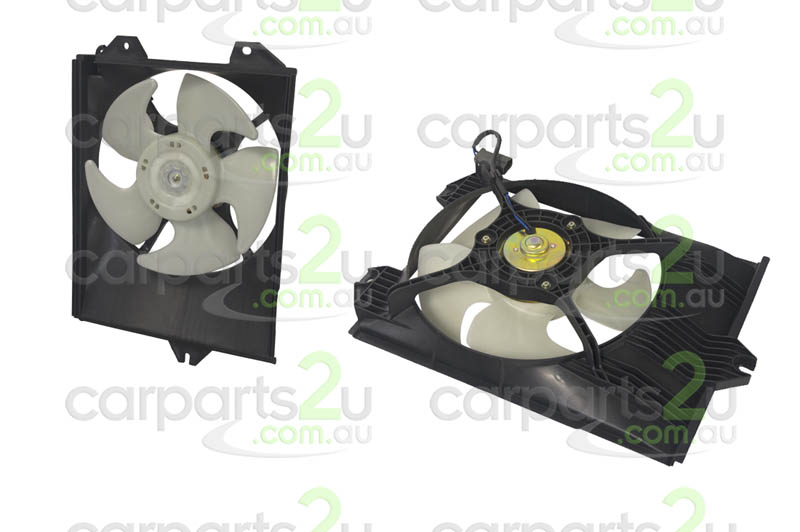 To suit MITSUBISHI LANCER ELANTRA XD  CONDENSER FAN ASSEMBLY - New quality car parts & auto spares online Australia wide with the convenience of shopping from your own home. Carparts 2U Penrith Sydney