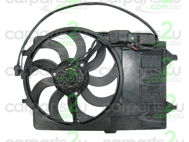 To suit MINI COOPER R50 / R53  RADIATOR FAN ASSEMBLY - New quality car parts & auto spares online Australia wide with the convenience of shopping from your own home. Carparts 2U Penrith Sydney