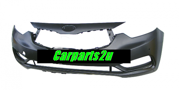 To suit KIA CERATO CERATO YD  FRONT BUMPER - New quality car parts & auto spares online Australia wide with the convenience of shopping from your own home. Carparts 2U Penrith Sydney