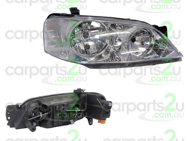 TO SUIT FORD FALCON BA / BF  HEAD LIGHT  RIGHT - BRAND NEW RIGHT HAND SIDE HEAD LIGHT (CHROME REFLECTOR TYPE)