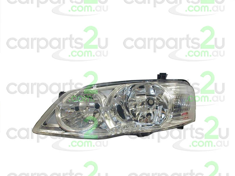 To suit FORD FAIRMONT FAIRMONT BA / BF  HEAD LIGHT - New quality car parts & auto spares online Australia wide with the convenience of shopping from your own home. Carparts 2U Penrith Sydney