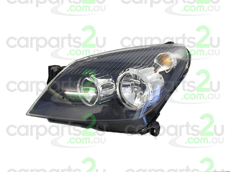 HEAD LIGHT LEFT BRAND NEW LEFT HAND SIDE HEAD LIGHT TO SUIT HOLDEN ASTRA AH HATCHBACK/WAGON MODELS BETWEEN 10/04-10/06 ONLY (BLACK REFLECTOR TYPE HEAD LIGHT)