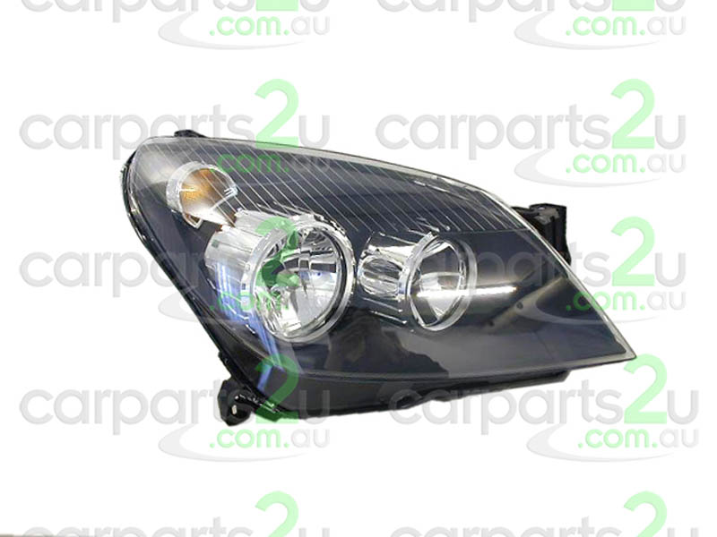 HEAD LIGHT RIGHT BRAND NEW RIGHT HAND SIDE HEAD LIGHT TO SUIT HOLDEN ASTRA AH HATCHBACK/WAGON MODELS BETWEEN 10/04-10/06 ONLY (BLACK REFLECTOR TYPE HEAD LIGHT)