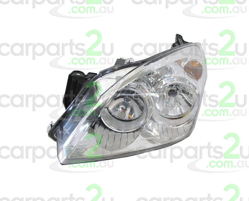 HEAD LIGHT LEFT BRAND NEW LEFT HAND SIDE HEAD LIGHT TO SUIT HOLDEN ASTRA AH HATCHBACK/WAGON MODELS BETWEEN 10/06-8/09 ONLY (CHROME REFLECTOR TYPE HEAD LIGHT)