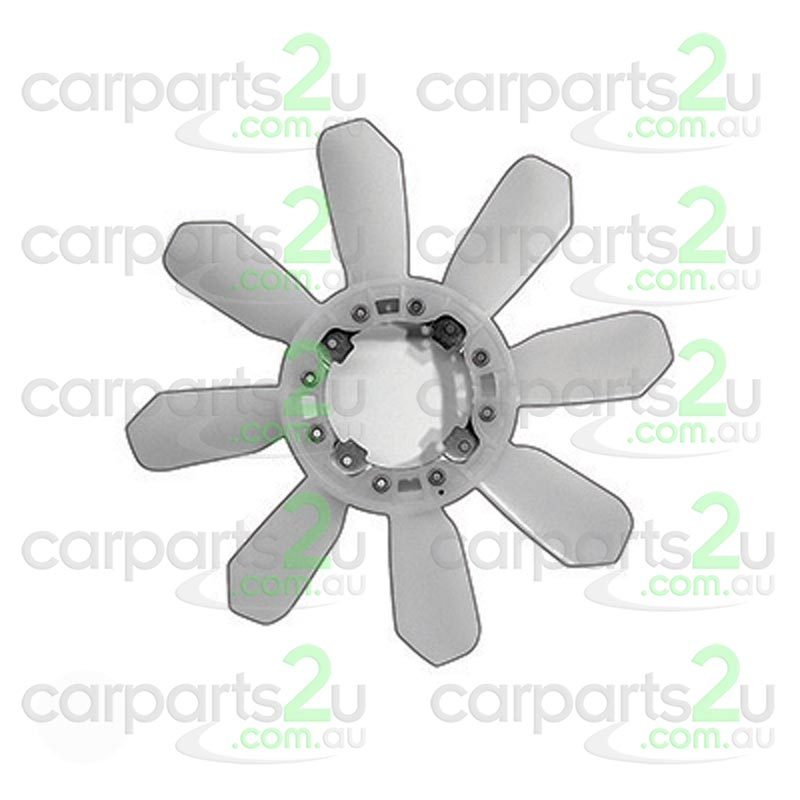 To suit HOLDEN RODEO RA  RADIATOR FAN BLADE - New quality car parts & auto spares online Australia wide with the convenience of shopping from your own home. Carparts 2U Penrith Sydney