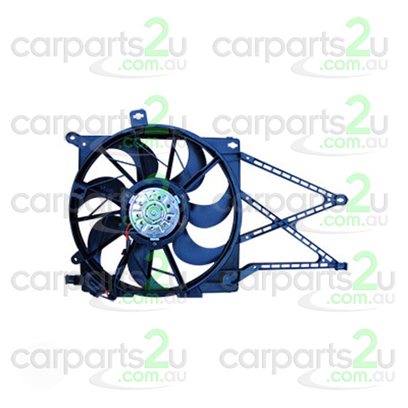 RADIATOR FAN ASSEMBLY NA BRAND NEW RADIATOR FAN ASSEMBLY TO SUIT HOLDEN ASTRA AH 1.8L 4CYLINDER WITH 2 PIN PLUG (10/2004-04/2007)