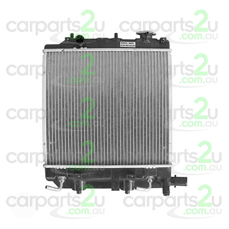 TO SUIT MAZDA 121 121 METRO  RADIATOR  NA - BRAND NEW RADIATOR TO SUIT MAZDA 121 METRO 1.3L AND 1.5L (08/1996-02/2000)