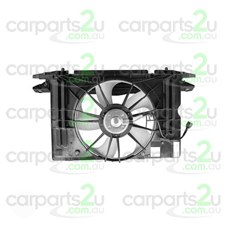 TO SUIT TOYOTA COROLLA ZRE152/ZRE153 SEDAN  RADIATOR FAN ASSEMBLY  NA - BRAND NEW RADIATOR FAN ASSEMBLY TO SUIT TOYOTA COROLLA ZRE152 SEDAN AND HATCH (03/2007-12/2013)
