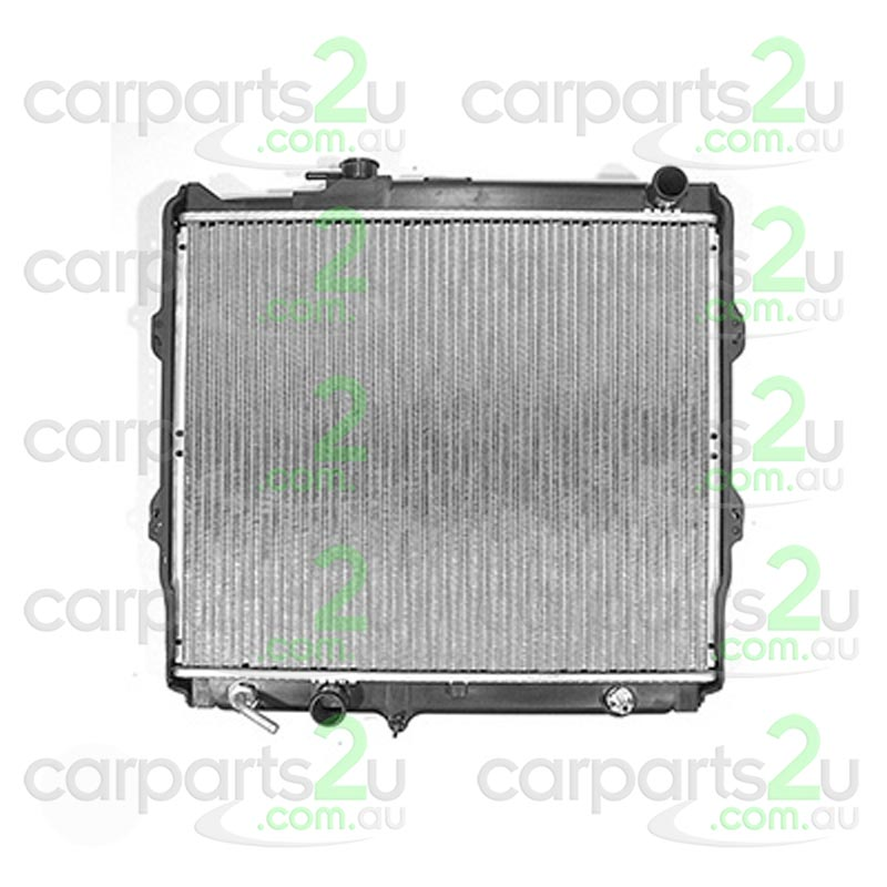 TO SUIT TOYOTA HILUX HILUX UTE 4WD  RADIATOR  NA - BRAND NEW RADIATOR TO SUIT TOYOTAHILUX2.0/2.7 LITREPETROL 4 CYL MODELSBETWEEN 8/1997-2/2005(AUTOMATIC TRANSMISSION ONLY)  - New quality car parts & auto spares online Australia wide with the convenience of shopping from your own home. Carparts 2U Penrith Sydney