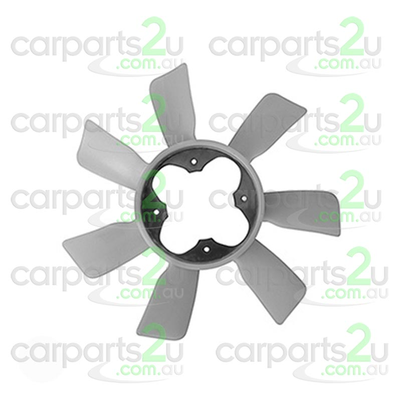 TO SUIT TOYOTA HILUX HILUX UTE 4WD  RADIATOR FAN BLADE  NA - BRAND NEW RADIATOR FAN BLADE TO SUIT TOYOTA HILUX 2.0L & 2.7L PETROL (08/1997-09/2001)