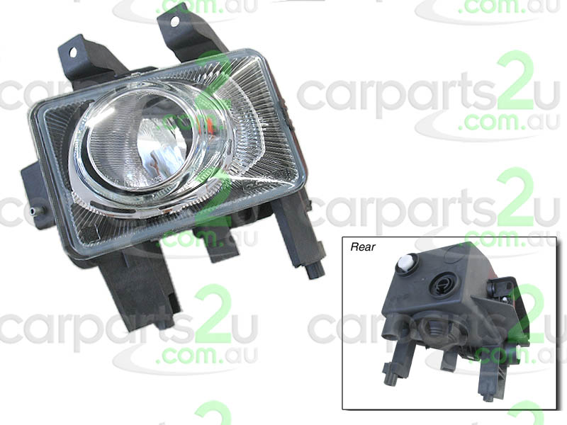 FOG LIGHT LEFT BRAND NEW LEFT HAND SIDE FOG LIGHT TO SUIT HOLDEN ASTRA AH SERIES 1 (10/2004-10/2006)