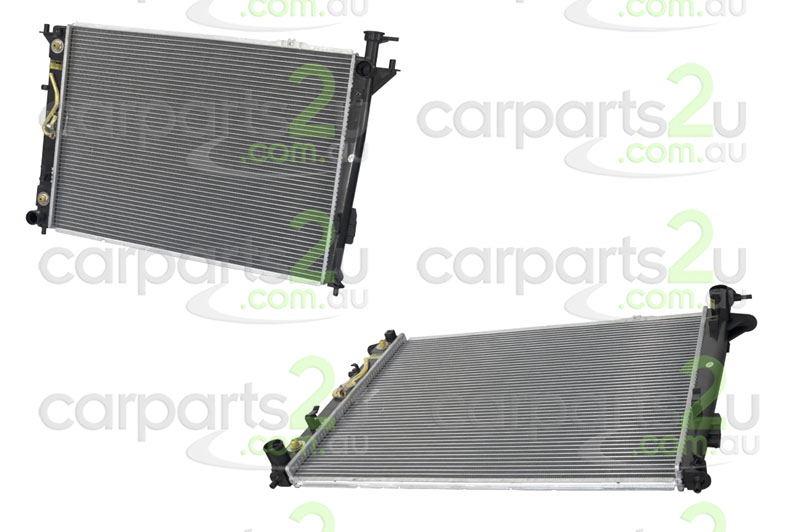 TO SUIT HYUNDAI SANTA FE CM  RADIATOR  NA - BRAND NEW RADIATOR TO SUIT HYUNDAI SANTA FE CM WAGON 3.5 LITRE 6 CYLINDER PETROL MODELS BETWEEN 9/2009-7/2012 (MANUAL/AUTOMATIC TRANSMISSION)