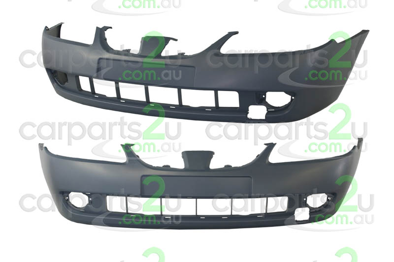 To suit NISSAN PULSAR N16 HATCH  FRONT BUMPER - New quality car parts & auto spares online Australia wide with the convenience of shopping from your own home. Carparts 2U Penrith Sydney
