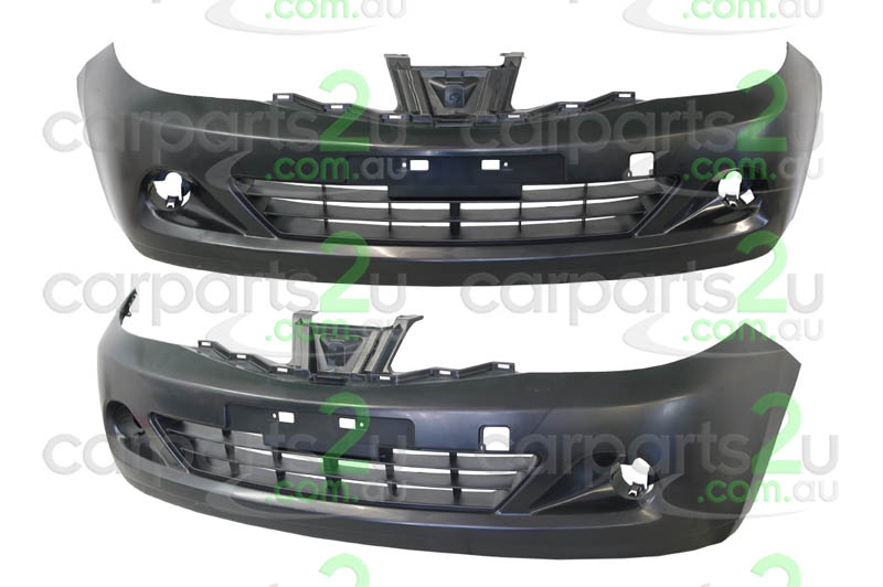 To suit NISSAN TIIDA C11  FRONT BUMPER - New quality car parts & auto spares online Australia wide with the convenience of shopping from your own home. Carparts 2U Penrith Sydney