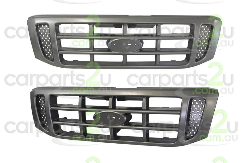 TO SUIT FORD COURIER PG/PH  GRILLE  NA - BRAND NEW SILVER GREY GRILLE TO SUIT FORD COURIER MODELS BETWEEN (11/2002-10/2006)    - New quality car parts & auto spares online Australia wide with the convenience of shopping from your own home. Carparts 2U Penrith Sydney
