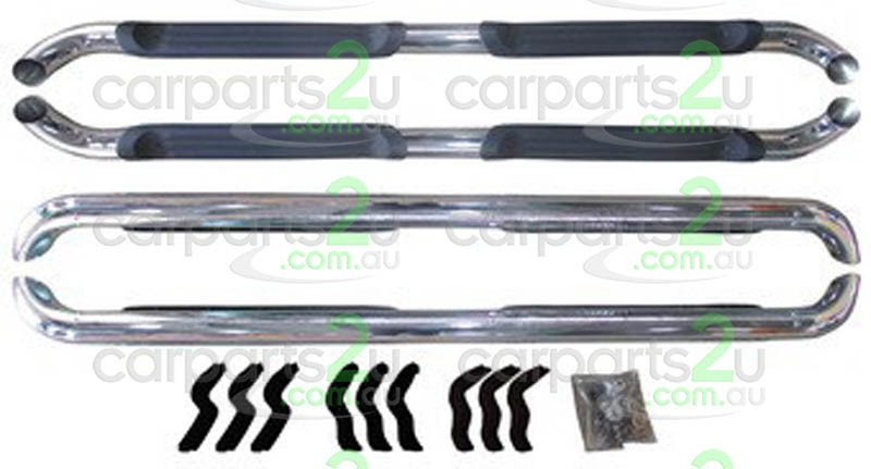 TO SUIT FORD RANGER RANGER UTE PX SERIES 2  SIDE STEPS  NA - BRAND NEW CHROME AND BLACK SIDE STEP KIT TO SUIT FORD RANGER PX DUAL CAB MODELS BETWEEN 09/2011-CURRENT