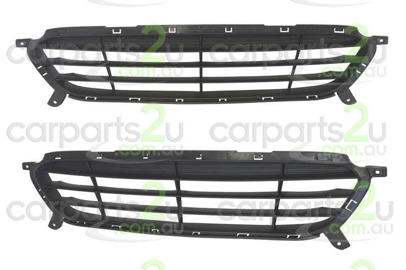 TO SUIT HYUNDAI ACCENT ACCENT RB  GRILLE  NA - BRAND NEW FRONT BAR GRILLE TO SUIT HYUNDAI ACCENT RB (07/2011-12/2013)
