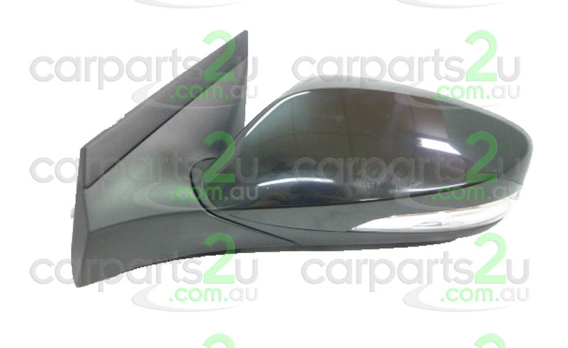 To suit HYUNDAI ACCENT ILOAD / IMAX  FRONT DOOR MIRROR - New quality car parts & auto spares online Australia wide with the convenience of shopping from your own home. Carparts 2U Penrith Sydney