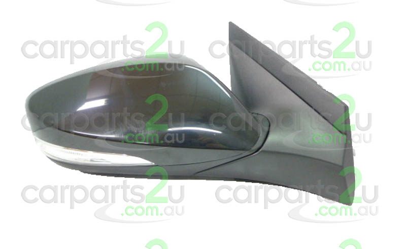 To suit HYUNDAI ACCENT ACCENT RB  FRONT DOOR MIRROR - New quality car parts & auto spares online Australia wide with the convenience of shopping from your own home. Carparts 2U Penrith Sydney