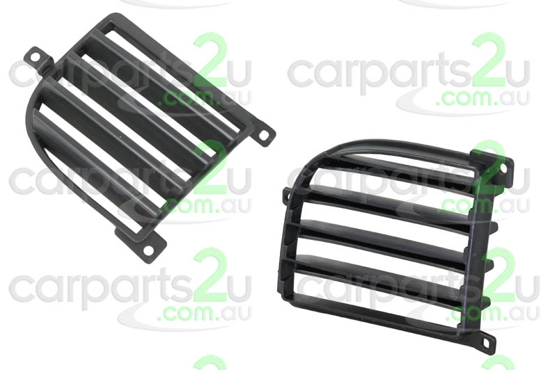 TO SUIT MITSUBISHI OUTLANDER ZE / ZF  FRONT BAR GRILLE  LEFT - BRAND NEW LEFT HAND SIDE FRONT BAR GRILLE / FOG LIGHT COVER TO SUIT MITSUBISHI OUTLANDER ZE/ZF MODELS BETWEEN 12/2002-10/2006  - New quality car parts & auto spares online Australia wide with the convenience of shopping from your own home. Carparts 2U Penrith Sydney