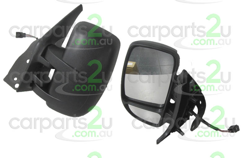 TO SUIT RENAULT MASTER MASTER VAN X70  FRONT DOOR MIRROR  LEFT - BRAND NEW LEFT HAND SIDE ELECTRIC DOOR MIRROR TO SUIT RENAULT MASTER X70 VAN (08/2004-08/2011)    - New quality car parts & auto spares online Australia wide with the convenience of shopping from your own home. Carparts 2U Penrith Sydney