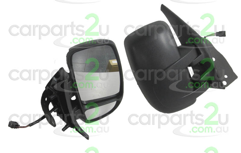 To suit RENAULT MASTER MASTER VAN X70  FRONT DOOR MIRROR - New quality car parts & auto spares online Australia wide with the convenience of shopping from your own home. Carparts 2U Penrith Sydney