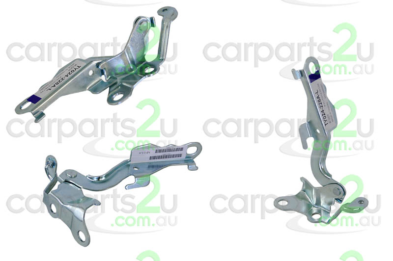 To suit TOYOTA COROLLA N16 SEDAN  BONNET HINGE - New quality car parts & auto spares online Australia wide with the convenience of shopping from your own home. Carparts 2U Penrith Sydney