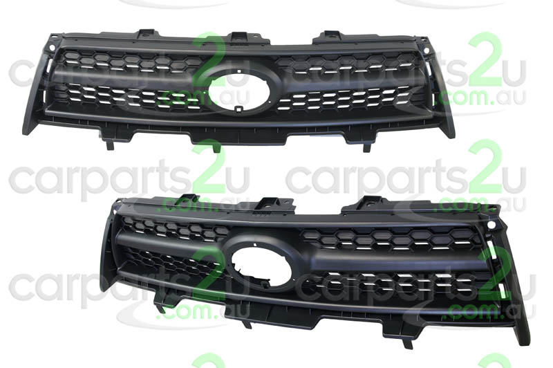 TO SUIT TOYOTA RAV 4 RAV 4 ACA33/GSA33/ACA38  GRILLE  NA - BRAND NEW GREY EDGE/BLACK GRILLE TO SUIT TOYOTA RAV 4 4 CYLINDER (08/2008-12/2012)