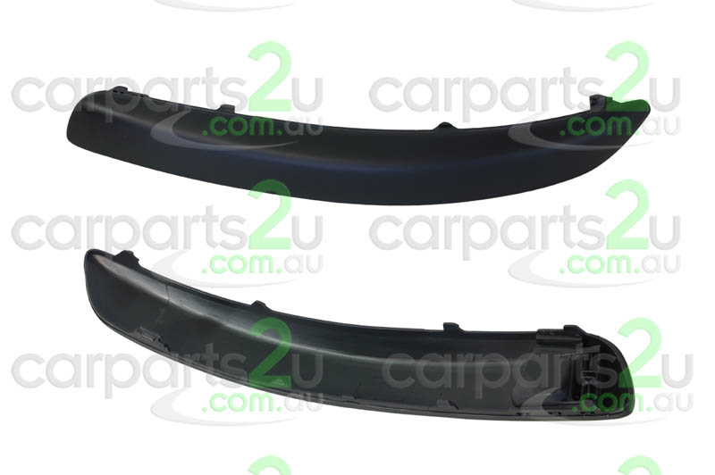 TO SUIT VOLKSWAGEN GOLF GOLF 5TH GEN  FRONT BAR MOULD  LEFT - BRAND NEW LEFT HAND SIDE BLACK FRONT BAR MOULD TO SUIT VOLKSWAGEN GOLF MK 5 MODELS BETWEEN 07/2004 ~ 02/2009 