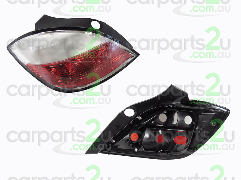 TAIL LIGHT LEFT LEFT HAND SIDE TAIL LIGHT TO SUIT HOLDEN ASTRA AH 5 DOOR MODELS ONLY BETWEEN 10/2004-10/2006 (MILKY LENS TYPE LIGHT) 