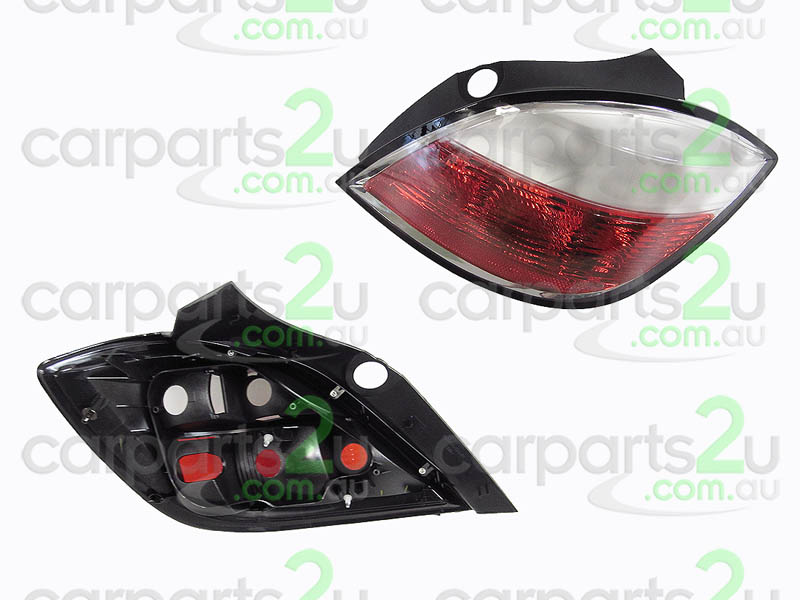 TAIL LIGHT RIGHT RIGHT HAND SIDE TAIL LIGHT TO SUIT HOLDEN ASTRA AH 5 DOOR MODELS ONLY BETWEEN 10/2004-10/2006 (MILKY LENS TYPE LIGHT) 
