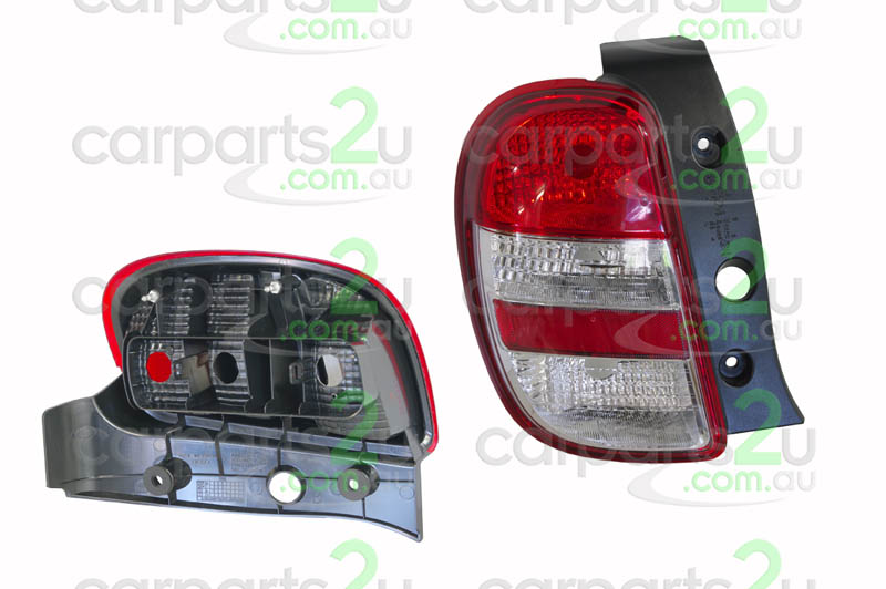 To suit NISSAN MICRA K13  TAIL LIGHT - New quality car parts & auto spares online Australia wide with the convenience of shopping from your own home. Carparts 2U Penrith Sydney