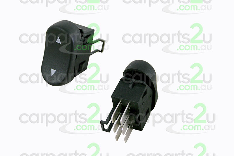 TO SUIT FORD FALCON AU  WINDOW SWITCH  LEFT - BRAND NEW SINGLE POWER WINDOW SWITCH TO SUIT FORD FALCONAU MODELS BETWEEN9/98-0/02(6 PIN TYPE ONLY)  - New quality car parts & auto spares online Australia wide with the convenience of shopping from your own home. Carparts 2U Penrith Sydney