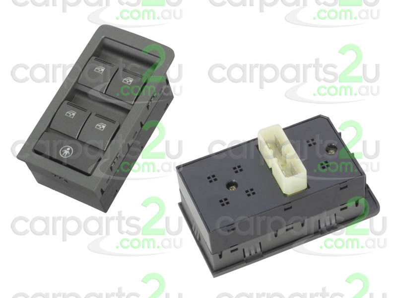TO SUIT HOLDEN COMMODORE VZ  WINDOW SWITCH  NA - BRAND NEW 4 BUTTON MAIN POWER WINDOW SWITCH TO SUIT HOLDEN COMMODORE VY/VZ  MODELS BETWEEN 9/02-9/07 (GREY BASE)
