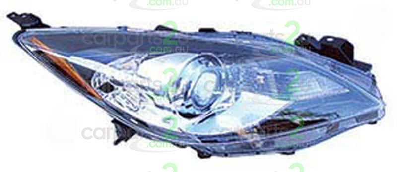 Parts To Suit Mazda Mazda 3 Spare Car Parts Mazda 3 Bl Head Light 20919