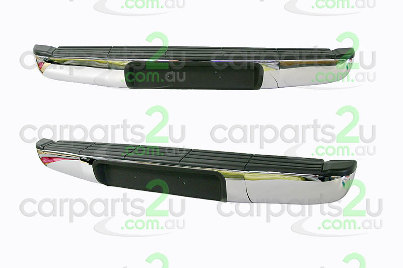 to suit mazda bt-50 bt-50 ute rear bumper na - brand new