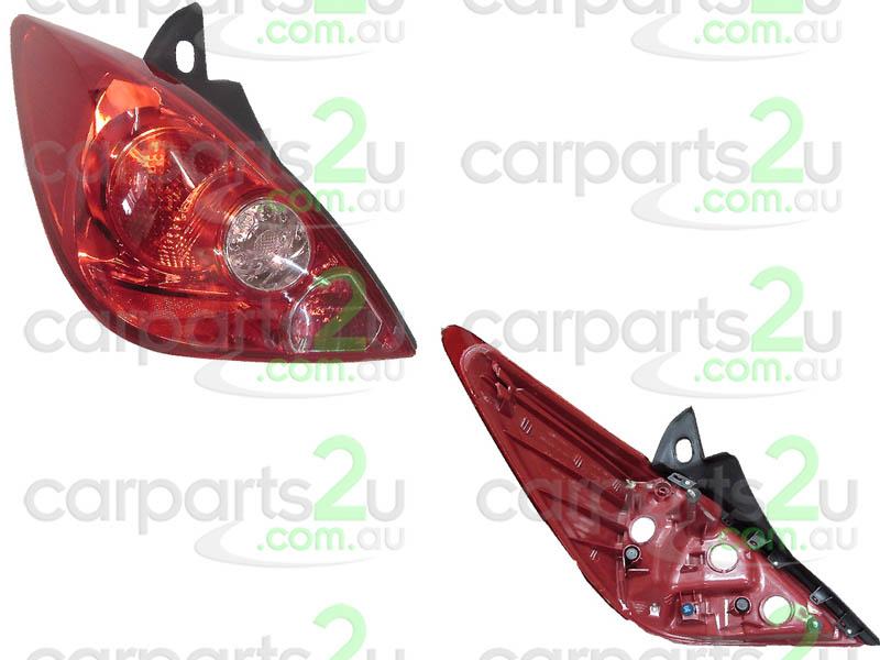 LH LHS Left Tail Light Rear Lamp For Nissan Tiida C11 Series 2 Hatch 2009~2017