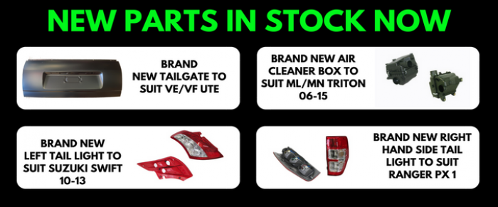 New & Aftermarket Car Parts and Replacement Auto Spares Shop for all the major brands, Ford, Holden, Toyota, Nissan, Subaru, Mitsubishi, Honda, Mazda, Kia, Daewoo, Hyundai & more. Penrith, Sydney based Australian Online Car Part Store. ../../dc/banner/NEWZPARTSZINZSTOCKZNZZ5.png